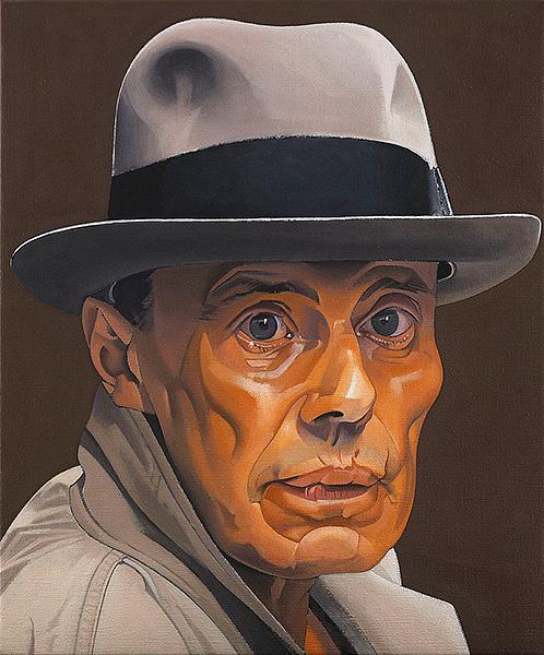 Man with grey felt hat – Joseph Beuys - Joseph-Beuys